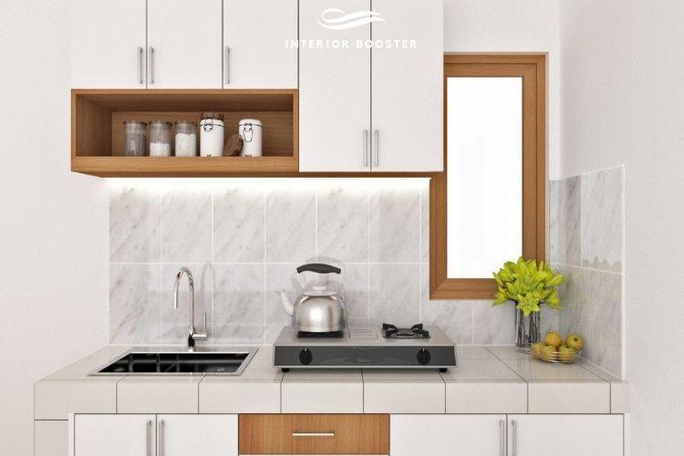 Desain kitchen set 3D, Sumber : doc pribadi